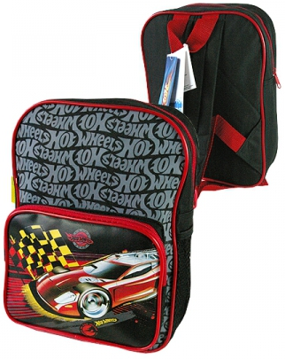 Details about hot wheels quot cars quot backpack rucksack bag school cool new